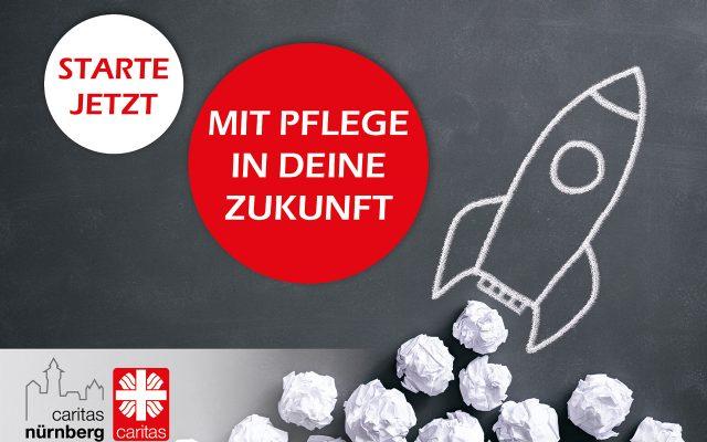 Der Caritasverband Nürnberg hat eine Kampagne zur generalistischen Pflegeausbildung aufgesetzt, die ab 2020 die bisherigen Ausbildungen zur Krankenschwester, zum Altenpfleger und in der Kinderkrankenpflege ersetzt.