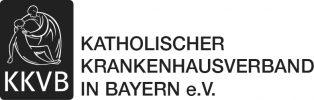 Logo des KKVB (Katholischen Krankenhausverbands Bayern), dessen Häuser ab 2020 die neue generalistische Pflegeausbildung anbieten, die die bisherigen Ausbildungen als Krankenschwester, zum Altenpfleger und in der Kinderkrankenpflege ersetzt.